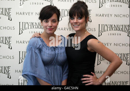Lily Allen and her sister Sarah Owen launch there clothing ...