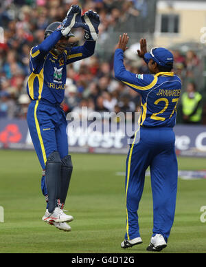 Cricket - International Twenty20 - England v Sri Lanka - The County Ground - Stock Photo
