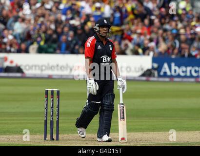 Cricket - Natwest International Twenty20 - England v Sri Lanka - County Ground - Stock Photo