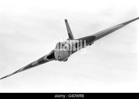 Aviation - Last Vulcan Flight - RAF Waddington - Stock Photo