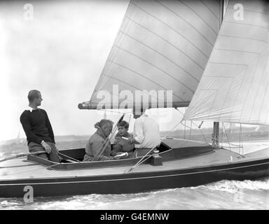 Sailing - Cowes Regatta - Cowes, Isle of Wight - Stock Photo
