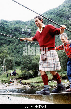 PRINCE OF WALES/MOUNTAIN TREK - Stock Photo