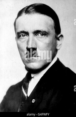 Adolf Hitler: 1923 - Stock Photo
