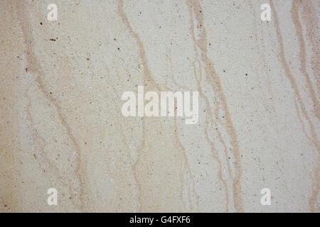 Finely textured worn veined marble travertine stone background - Stock Photo