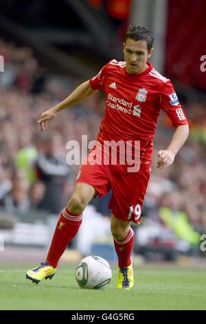 Soccer - Pre Season Friendly - Liverpool v Valencia - Anfield Stock Photo