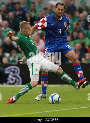 Soccer - International Friendly - Republic of Ireland v Croatia - Aviva Stadium - Stock Photo