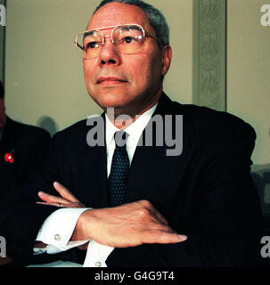GENERAL COLIN POWELL/Equal opportunities conference - Stock Photo