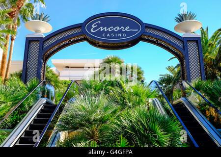 Encore Hotel and Casino in Las Vegas. - Stock Photo