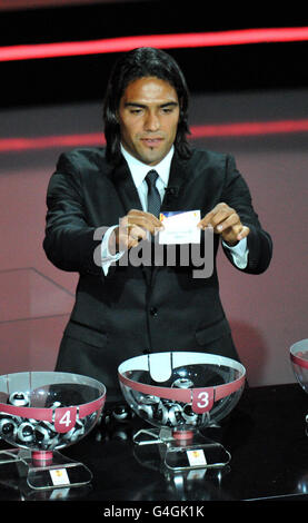 Soccer - UEFA Europa League - Group Stage Draw - Grimaldi Forum - Stock Photo
