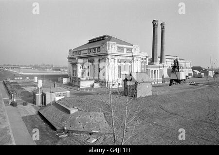 Buildings & Landmarks - Kempton Park Waterworks - Stock Photo