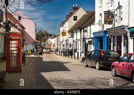 UK, Herefordshire, Leominster, West Street - Stock Photo