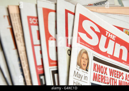 General Stock - Newspapers - Stock Photo