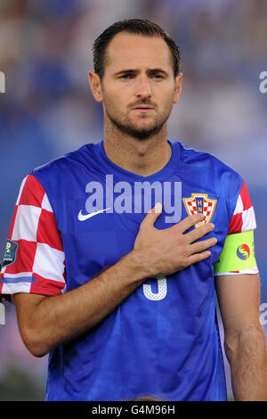 Soccer - UEFA Euro 2012 - Group F - Greece v Croatia - Karaiskakis Stadium - Stock Photo