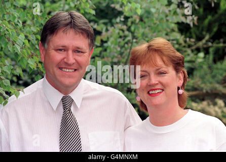 Pig heart surgery/Berry/Husband - Stock Photo