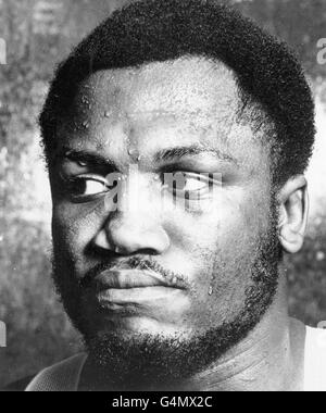 Boxing - Heavyweight - Joe Frazier - Stock Photo