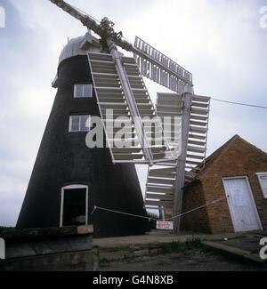 Buildings & Landmarks - North Leverton Windmill - Retford, Nottinghamshire - Stock Photo