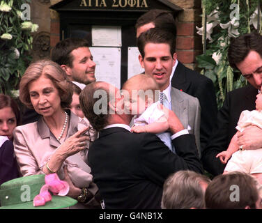 Greek Wedding/KIng Carlos - Stock Photo