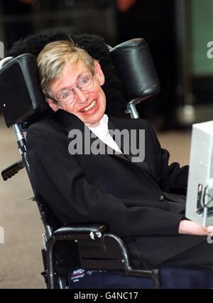 Star Wars/Stephen Hawking - Stock Photo