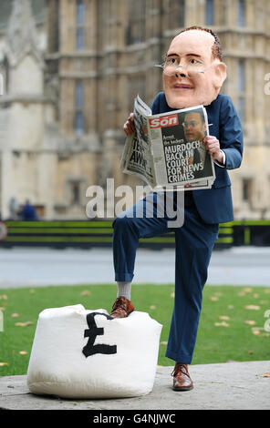 Phone hacking claims - Stock Photo