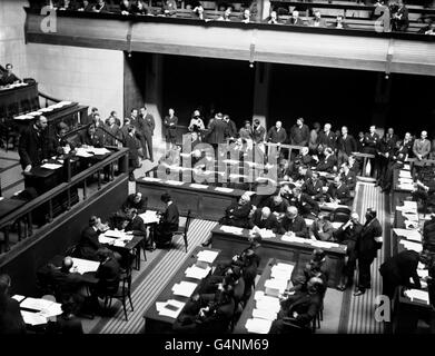 The League of nations - Meeting - Geneva - 1926 - Stock Photo