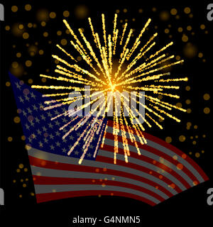 Independense Day of America. - Stock Photo