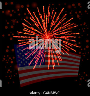 Independense Day of America - Stock Photo