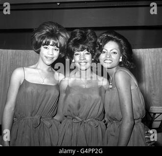 Music - The Supremes - Stock Photo
