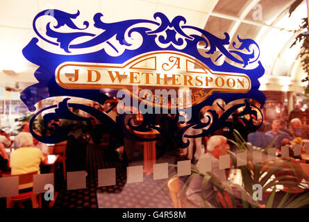 J D Wetherspoon new Pubs - Stock Photo