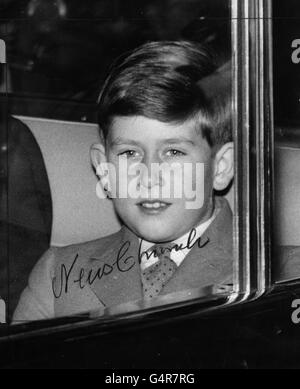 Royalty - Prince of Wales - Liverpool St Station, London - Stock Photo
