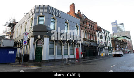 The Band On The Wall music venue - Stock Photo