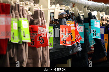 Boxing Day sales - Stock Photo