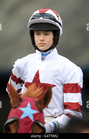 Horse Racing - 1st National Hunt - Leicester Racecourse Stock Photo