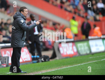 Soccer - npower Football League One - Charlton Athletic v Sheffield United - The Valley - Stock Photo