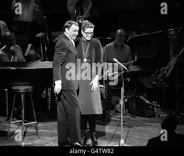 Sinatra & Kelly/RFH 1970 - Stock Photo