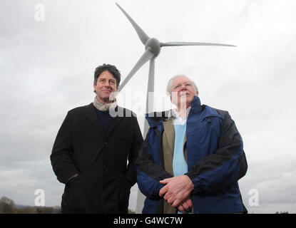 Glyndebourne installs wind turbine - Stock Photo