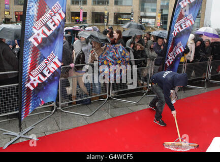 Britain's Got Talent Auditions - Manchester - Stock Photo