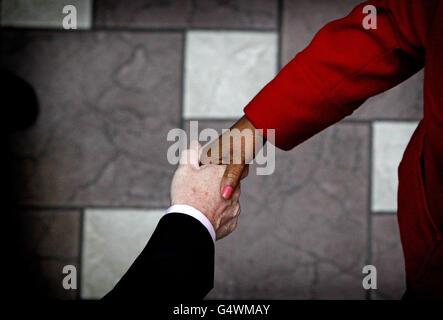 Irish Citizenship ceremony - Stock Photo