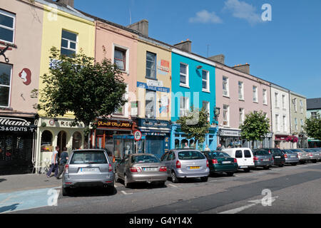 0c202f0843454 ... Colourful shops and proerties on Grattan Square in the centre of  Dungarvan, Co. Waterford