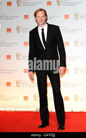 BAFTA Awards 2012 - Press Room - London - Stock Photo