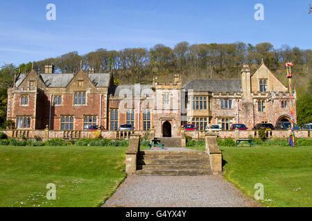 Halsway Manor, Somerset, UK - Stock Photo