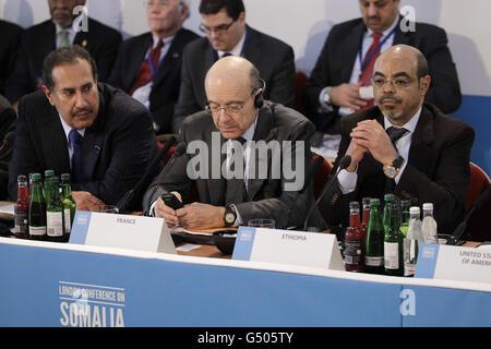 London conference on Somalia - Stock Photo