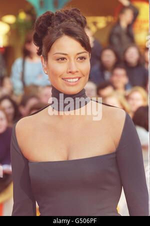 BAFTA Melanie Sykes - Stock Photo