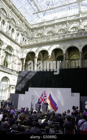 Putin FCO - Stock Photo