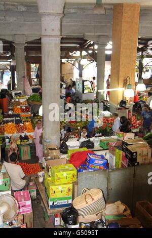 Central Market Mauritius - Stock Photo