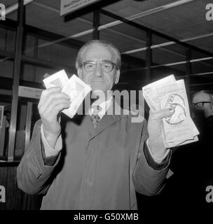 Fuel Industry - Fuel Ration Book - London - Stock Photo