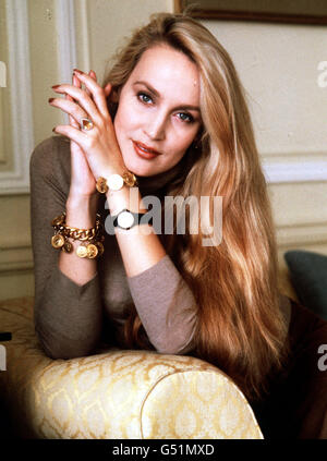 TOP MODEL JERRY HALL - Stock Photo