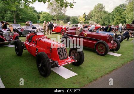 Louis Vuitton Maserati & Alfa - Stock Photo