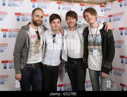 Teenage Cancer Trust Gigs - Fenech-Soler - London - Stock Photo