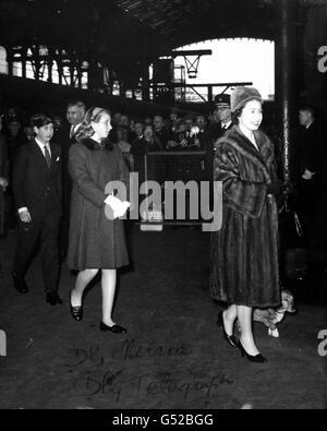 Royalty - Royal Family - Liverpool Street Station, London - Stock Photo