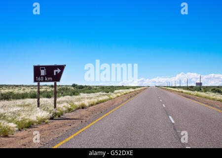 South Africa, North Cape, Benede Oranje, On the way to Kgalagadi Transfrontier Park, between Upington and Askham - Stock Photo